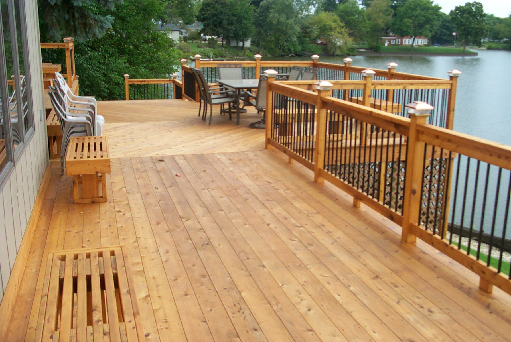 deck and wood stain deck cleaning and sealing by timberseal