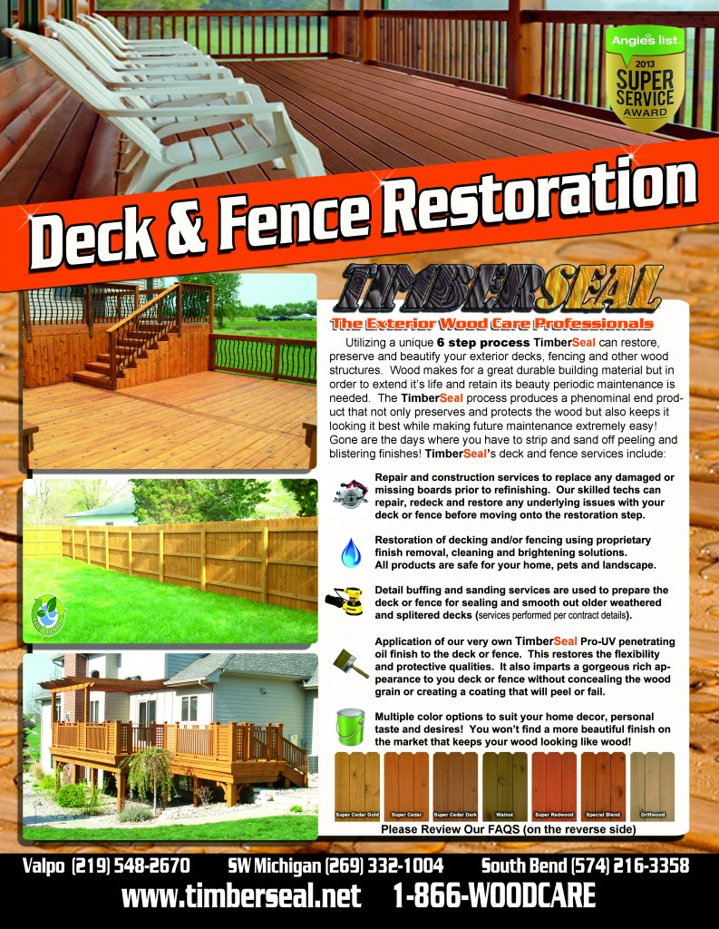 Indiana Deck Cleaning and Sealing