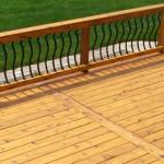 Cedar Deck Restored and Sealed