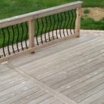 Cedar Deck Before