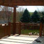 cedar deck during2