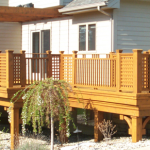 cedar deck finished