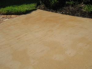 Indiana Fertilizer Stains removal before