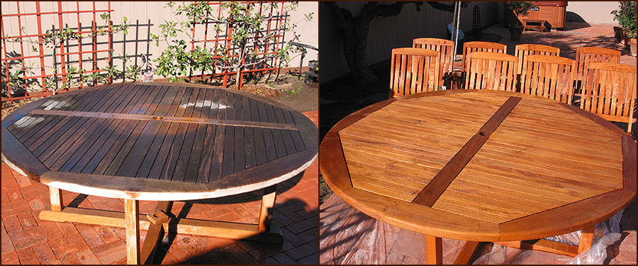 Exceptionnel Indiana Teak Furniture Refinishing