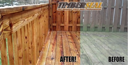 Indiana Deck Staining, Sealing and Restoration