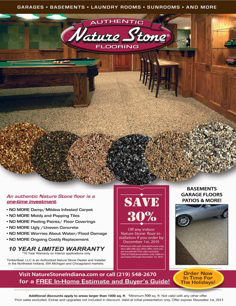 Nature Stone Indiana Sales Flyer